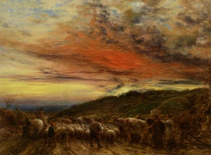 Linnell_John_Homeward_Bound_sunset_1861_Oil_on_Canvas-huge